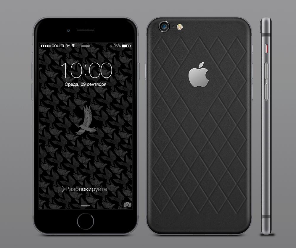 iPhone 6s из кожи