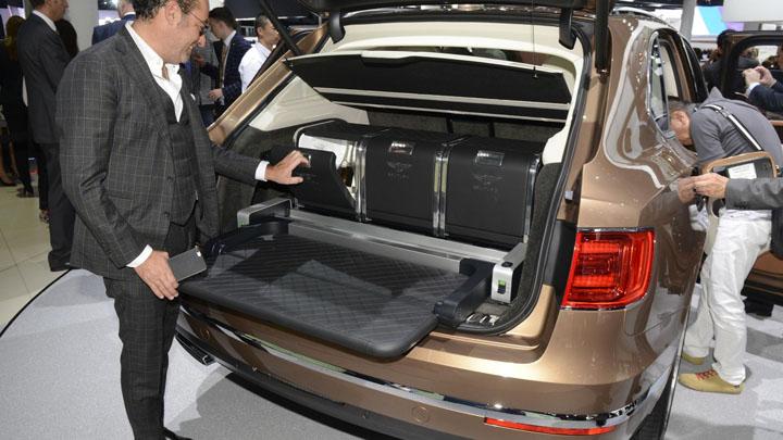 Bentayga на Frankfurt Motor Show 2015