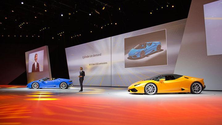 Lamborghini Huracan Spyder — новый суперкар, который поможет «разорвать ночь»