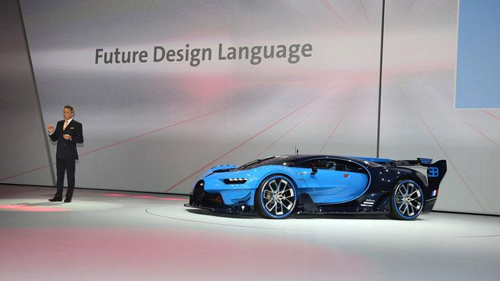 BUGATTI Vision Gran Turismo — приемник Veyron