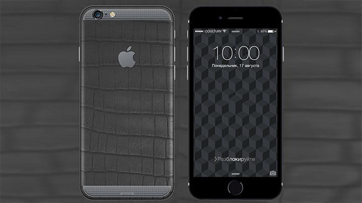 iPhone 6s Royal Tantalum — тантал пескоструйной обработки