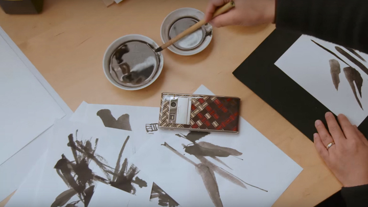 Новая визуальная концепция Vertu с традиционными японскими мотивами