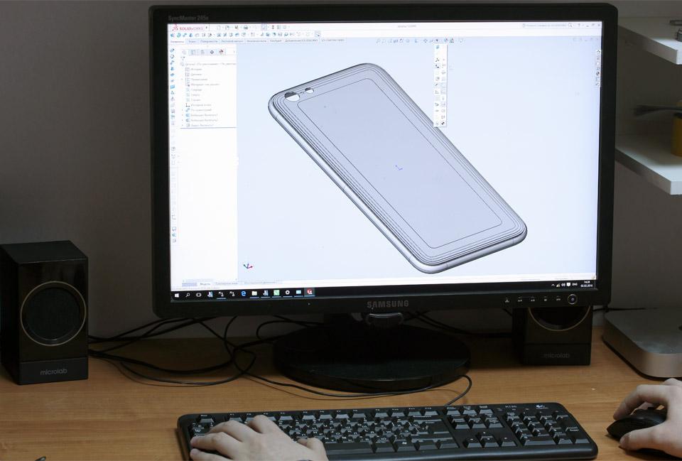 Разработка конструкции для моддинга iPhone