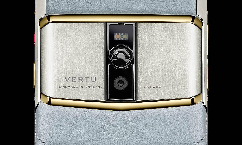Vertu Signature Touch 2015 Sky Blue
