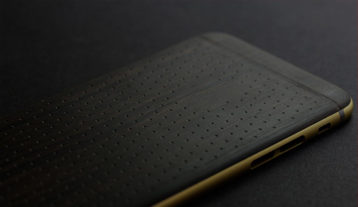 Цейлонский эбен для iPhone Gold Power