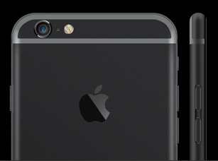 iPhone Ultimate black Just black