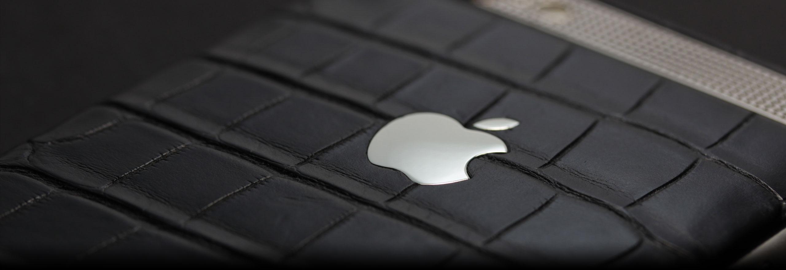 iPhone из кожи аллигатор