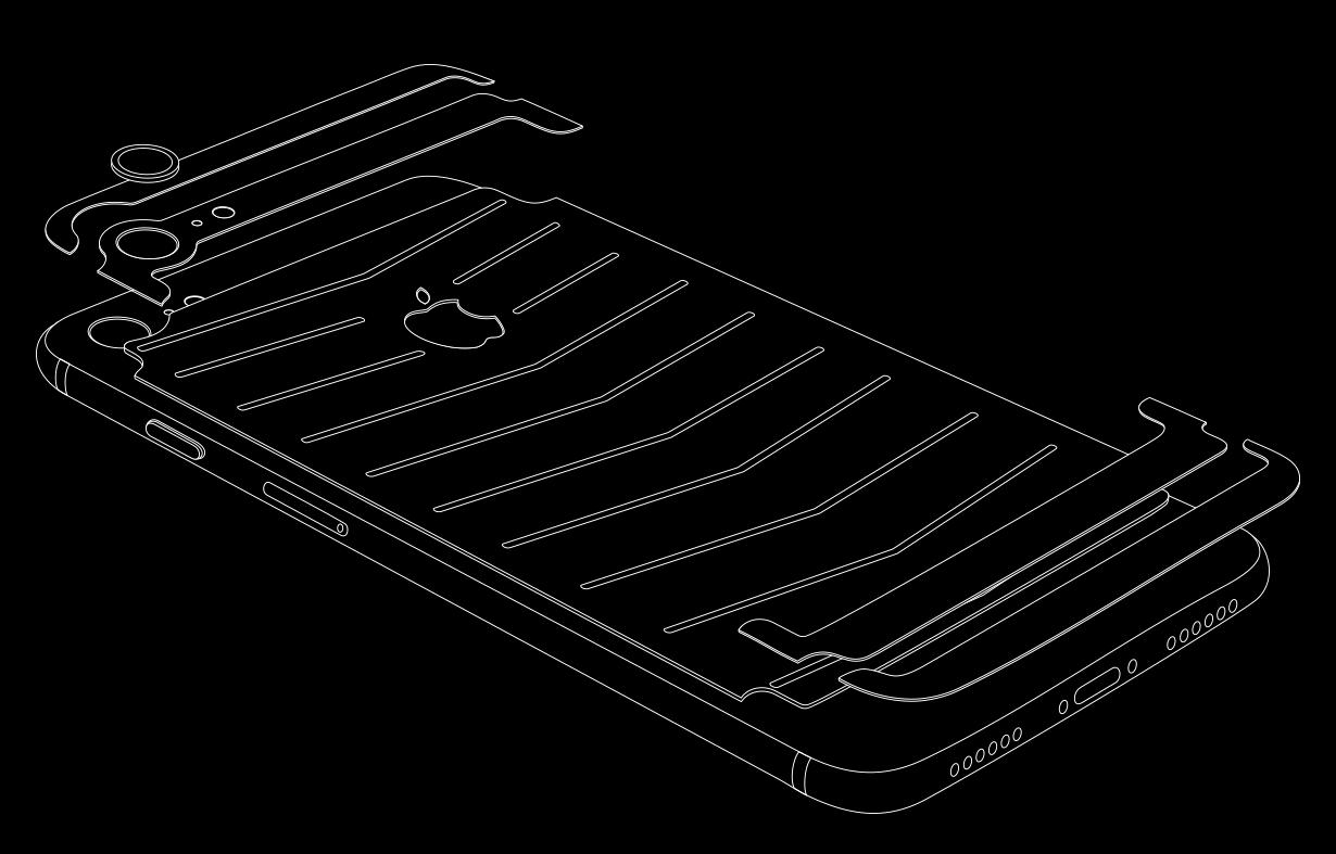 Схема iPhone 7 Revo