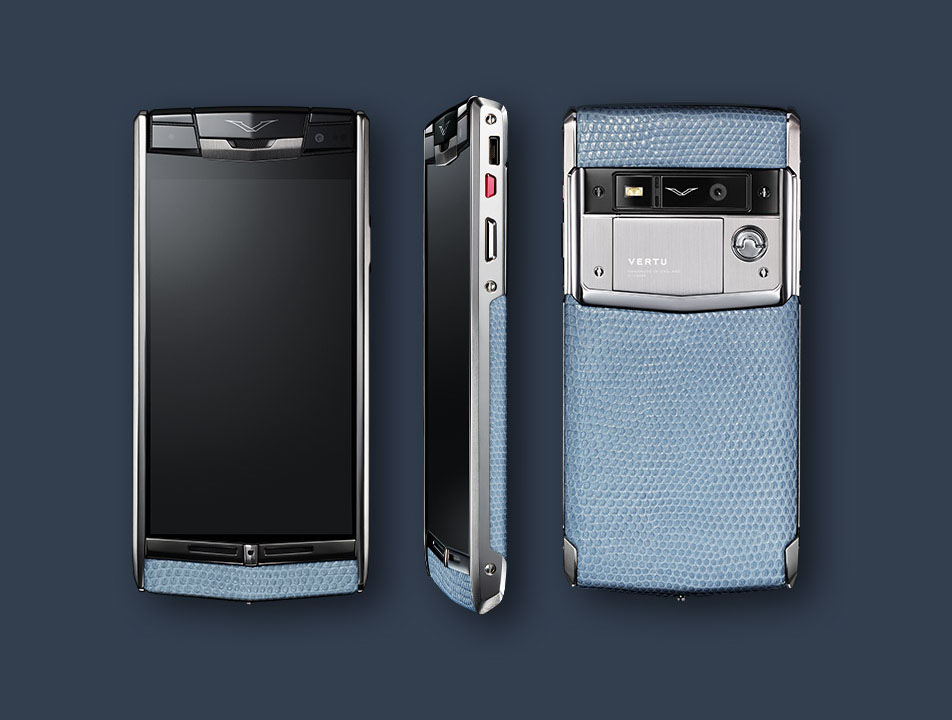 Vertu Signature Touch 2014 Seaspray lizard