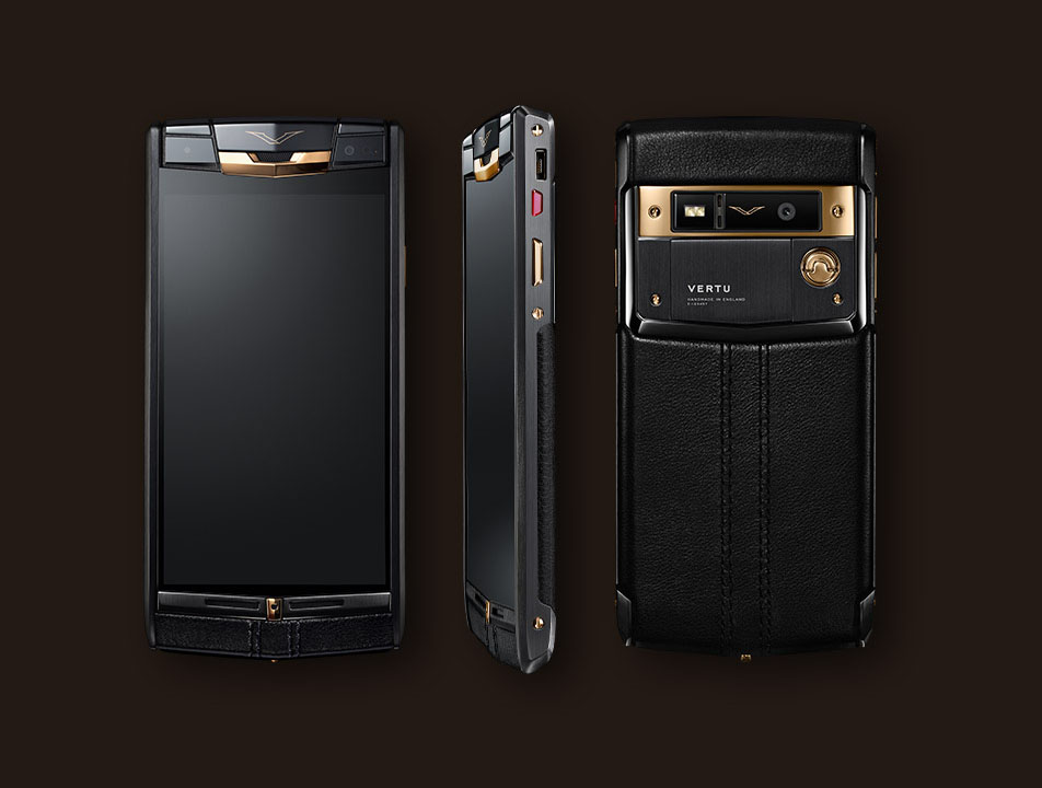 Vertu Signature Touch 2014 Pure jet red gold