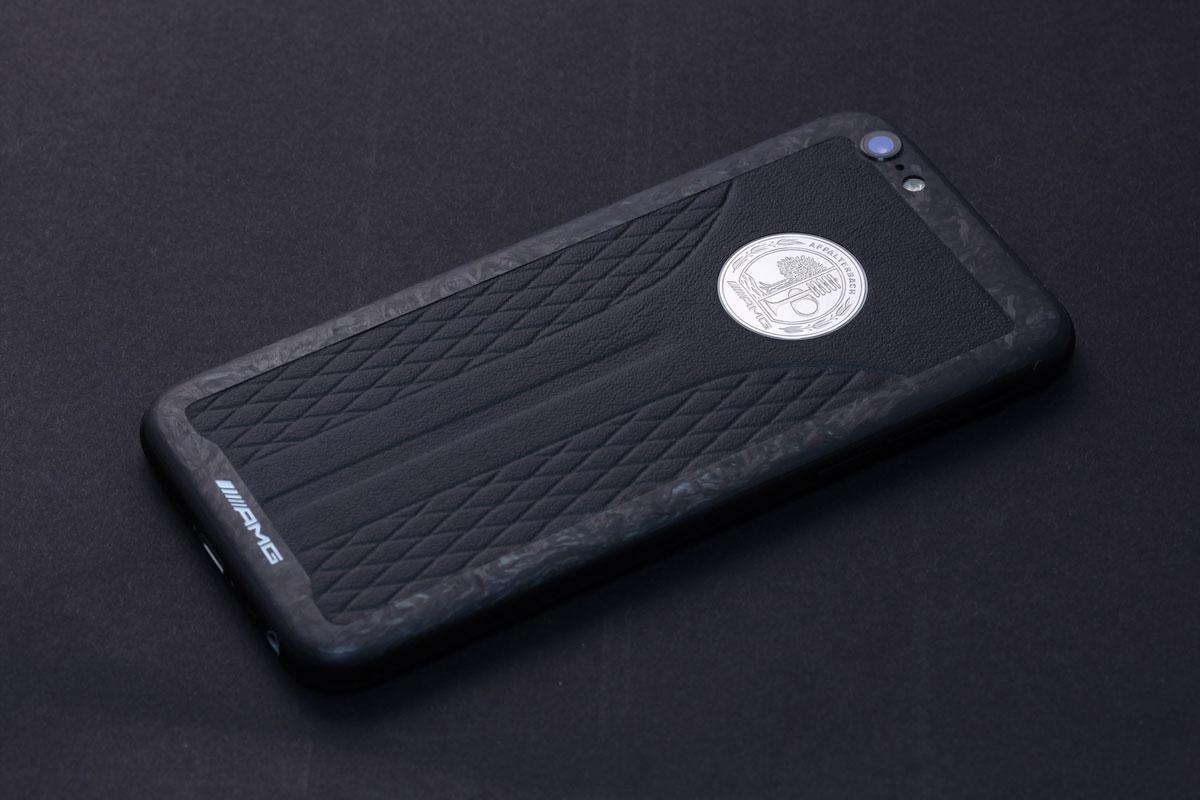 iPhone AMG из кожи и мраморного карбона