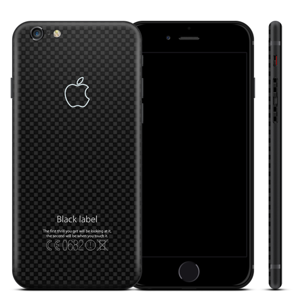 iPhone из карбона — Black Label