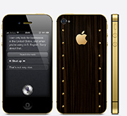 iPhone 4s Gold Power