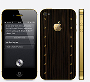 iPhone 4s Gold Power Ambiaso