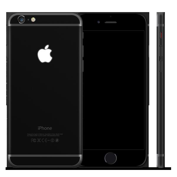 Черный iPhone 6