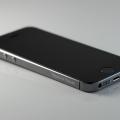 Лазерная гравировка на рамке iPhone 5s Space Gray