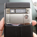 Черная кожа Vertu Signature Touch Jet leather
