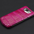 Vertu Constellation V Raspberry crocodile