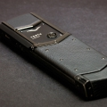 Замена кожа Vertu Signature S Design Black PVD