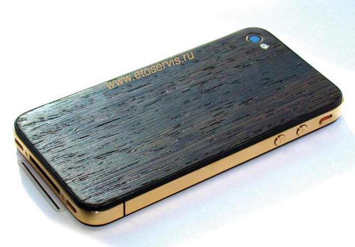Первый в мире iPhone из дерева