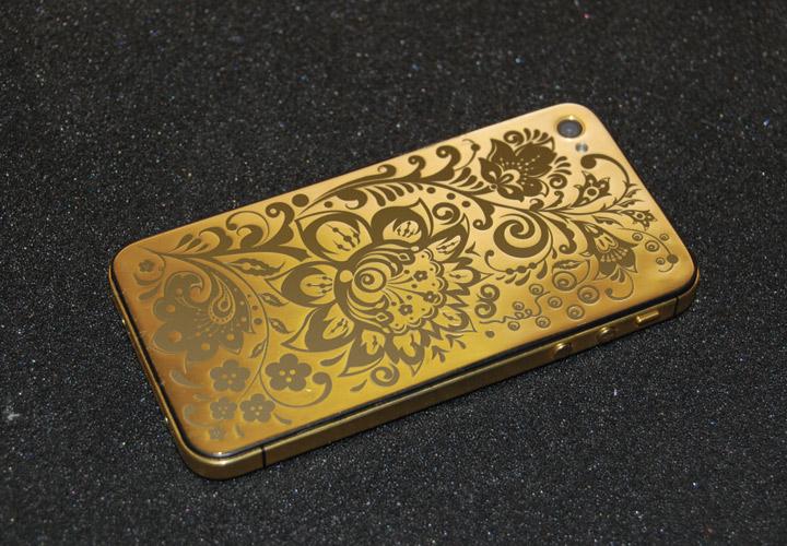 Золотой iPhone 4s