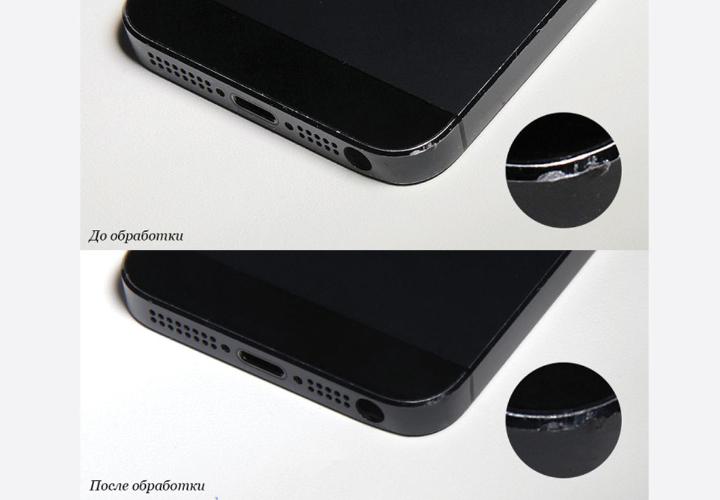 Как убрать царапины с iPhone 5 и iPad Mini