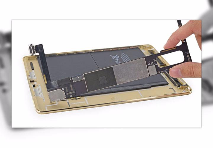Замена порта Lightning на iPad Air 2