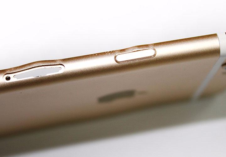 Разбился корпус, задняя панель iPhone