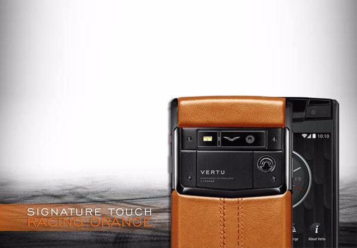 Представлен Vertu Signature Touch Racing Orange