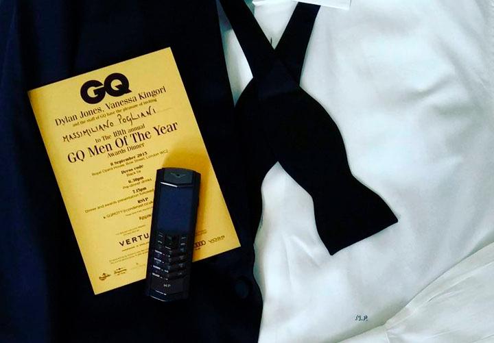 Массимилиано Польяни конечно же не стал актером года GQ