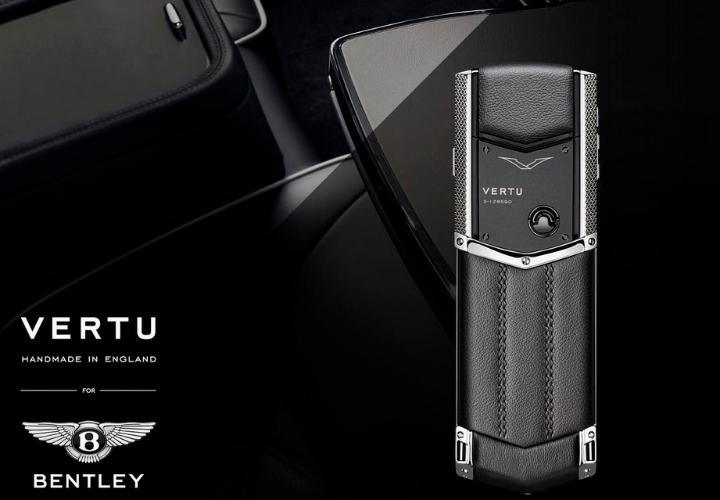 Vertu в дополнение к Bentley