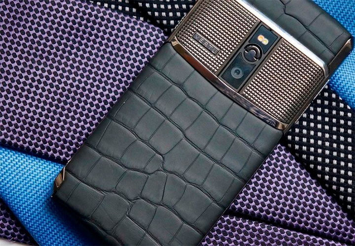 Vertu Signature Touch 2015 вдохновлен Première Vision Paris Autumn Winter 1617