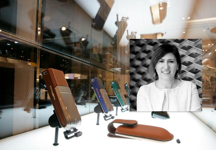 Ева Педерзини — бренд-директор по маркетингу Vertu