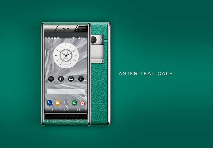 Vertu Aster Teal Calf — символ спокойствия и равновесия