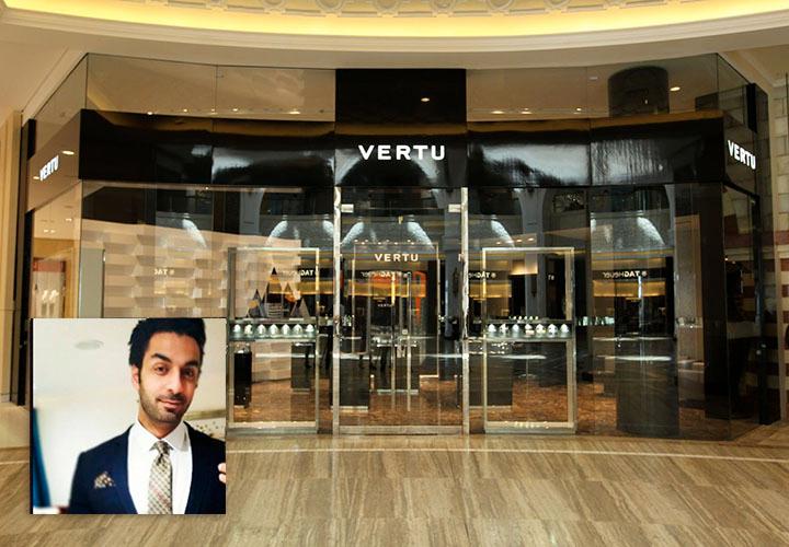 Ахмед Эль-Шейх — региональный менеджер по продажам Vertu