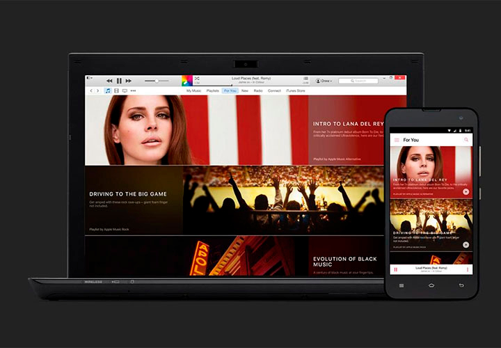 Apple Music — уже на смартфонах Vertu