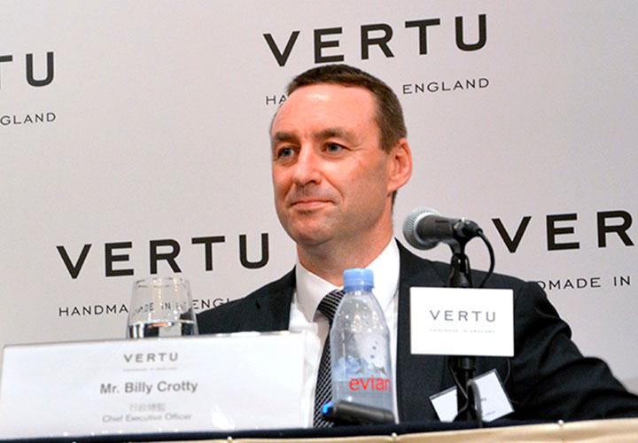Билли Кротти — новый генеральный директор Vertu
