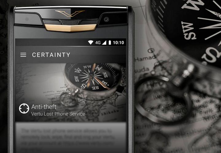 Lost Phone для Vertu Signature Touch 2015 — безопасность, защита, уверенность
