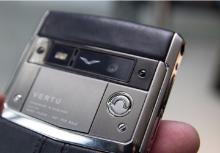 Vertu — мир телефонов класса люкс