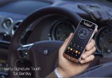 Представлен Vertu Signature Touch for Bentley