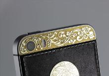 iPhone Gold&Sliver skull, Individual