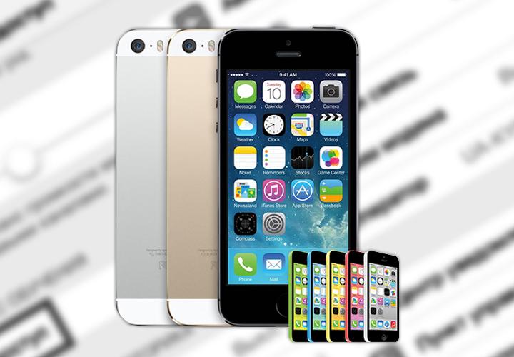 iPhone 5s/5c