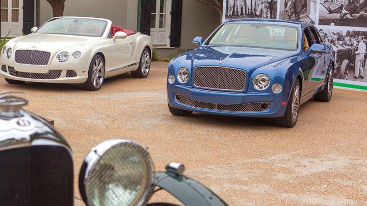 Vertu и автомобильные мероприятия в рамках работы с Bentley