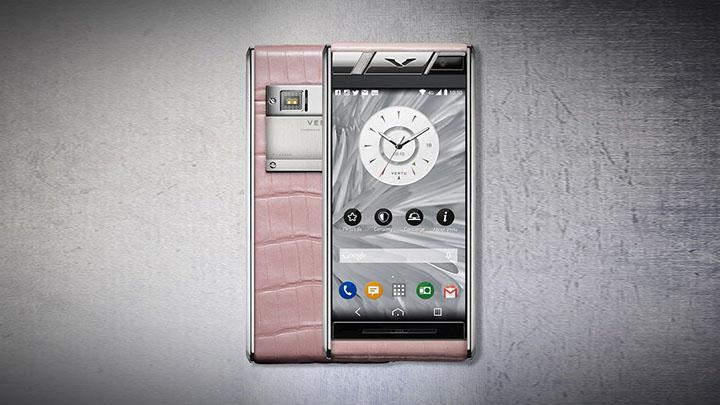Vertu Aster Diamonds Pink Alligator — гламур в нежно-розовом цвете