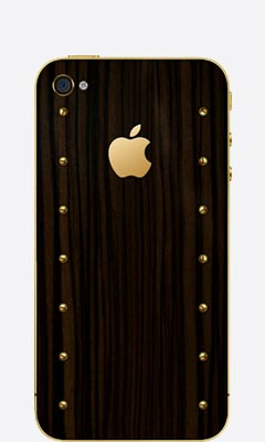 iPhone 4/4s Gold Power
