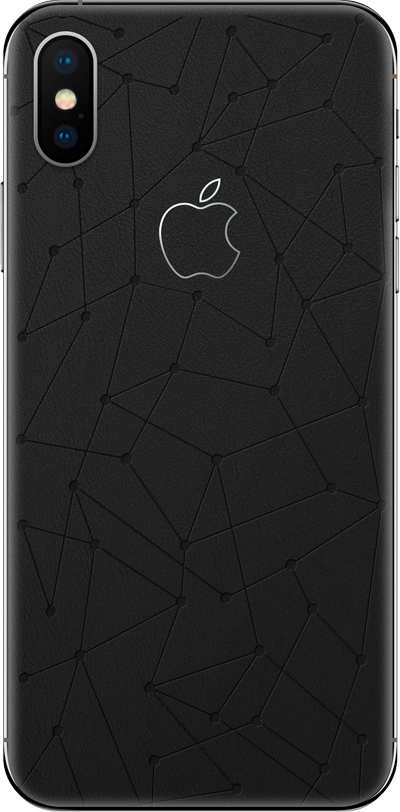 Модель iPhone Xs & Xs Max Low Poly Black