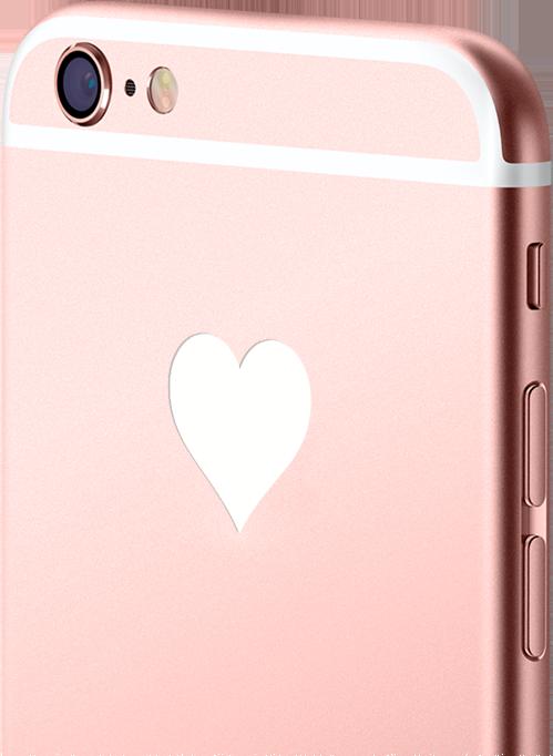 iPhone светящийся логотип