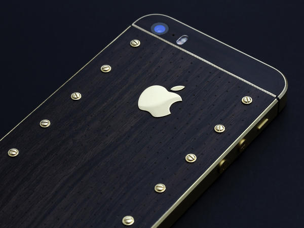 iPhone 5s Gold Power