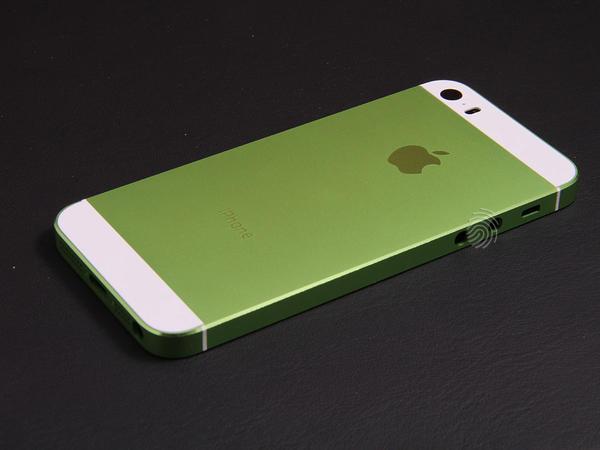 Зеленый корпус для iPhone 5s