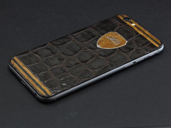 iPhone 6 из кожи нильского крокодила
